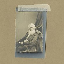 Samuel F.B. Morse - Morse Code - Meserve Collection - Silver Print Photograph