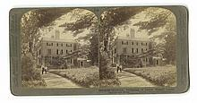 James Russell Lowell - Classic American Poet - Stereoview Photograph, Vintage