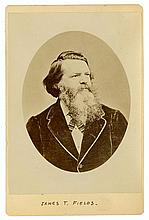James Thomas Fields - Publisher, Poet - Original Cabinet Card