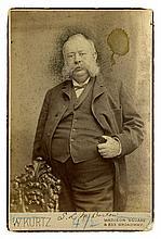 Samuel L. M. Barlow - 19th Century Wall Street Lawyer - Cabinet Card Photograph