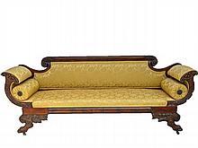 American Empire Sofa, 19th C.