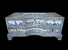 Vizagapatam Veneered Dressing Table