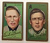 Frank Chance & Joe Tinker T205 Gold Border Tobacco cards