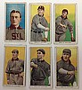 6 T206 Saint Louis Tobacco cards