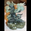 China Jade Rabbits and Mushrooms Sculpture - Unique 10