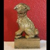 Antique Solid Bronze Chinese Foo / Fu Dog Statue