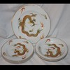 Gorgeous Dragonware 1 Dinner Plate, 4 Salad Plates, 3 Bowls
