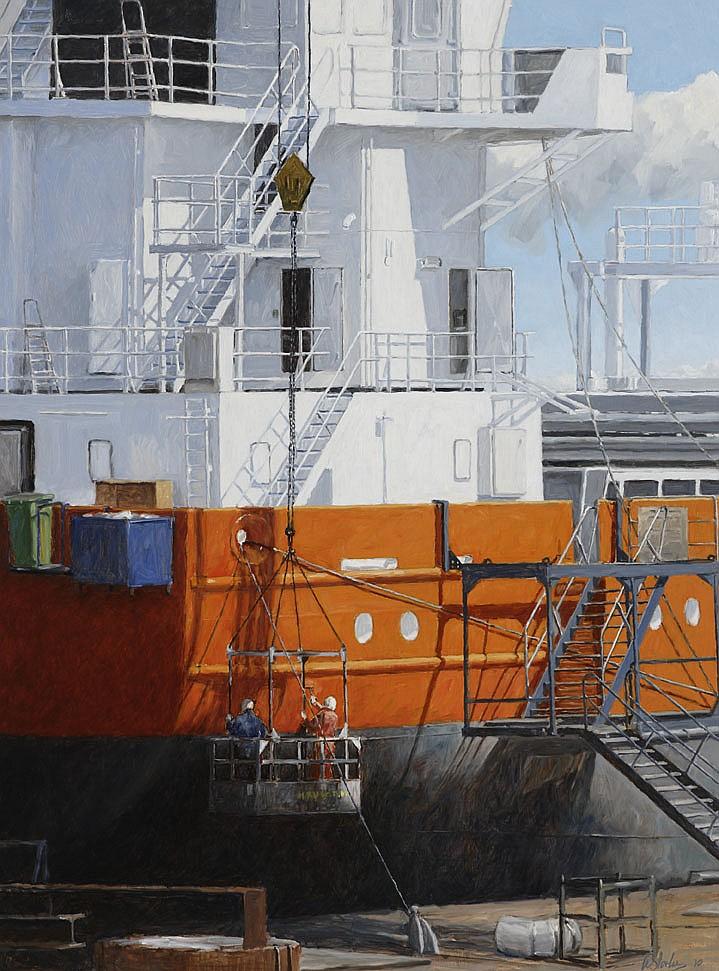 Walter Stoelwinder (1948), Damen shipyard's 2010