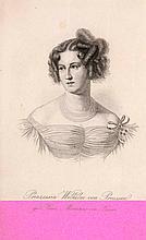 Arndt, Fanny Die deutschen Frauen in den Befreiungskriegen. Mit einem Porträt v. Prinzessin Wilhelm von Preußen. 3 Bll., 309 S., 1 Bl. Hldr. d. Zt. mit Eckfileten u. RVergoldung. (etwas berieben, beschabt u. bestoßen)