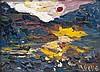Abelló, JuanLe lac. 1980. Öl auf Leinwand. 24 x 33
