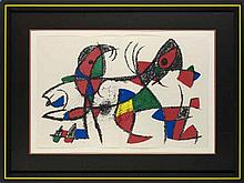 Miró, Joan Abstraktion aus