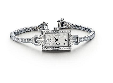 18kt White Gold and Diamond Lady's Concord Wrist Watch