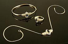 14K 3 Piece Jewelry Ensemble