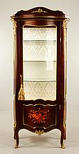 Louis XVI Style Inlaid China Cabinet