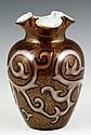Loetz Octopus Federzeichnung Glass Vase