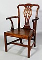 18th C. English Chippendale Armchair