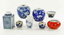 8 Assorted Chinese Bowls and Jars
