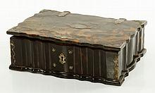 18th C. Dutch Colonial Tortoise Shell Bible Box