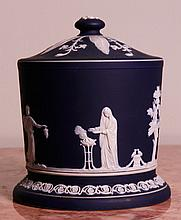 Staffordshire Jasperware Jar