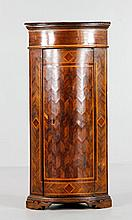 19th C. Continental Corner Cupboard
