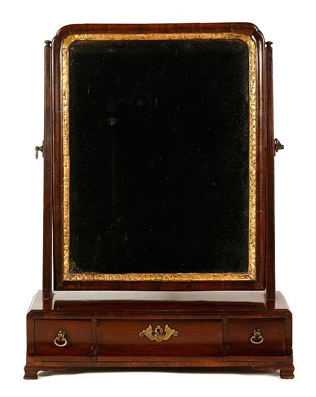 18th C. Queen Ann Dressing Mirror