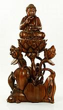 Chinese Carved Wood Sculpture