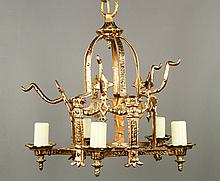 Small Chinese Chandelier