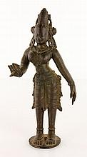 17th C. Indian Bronze Figure