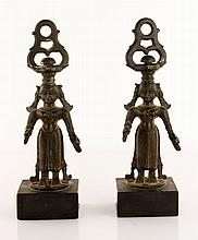 Two 19th C. Indian Bronze Figures