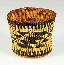 19th C. Acoma Miniature Basket