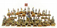 Lot of Miniature Medieval Knight Figures