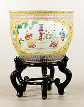 Early 20th C. Chinese Fish Bowl