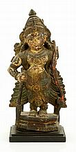 17th C. Indian Carved Wood Figure