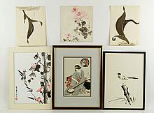 Six Chinese and Japanese Paintings