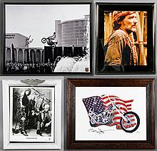 Lot of 4 Autographed Framed Items