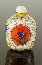 Chinese Republic Period Glass Snuff Bottle