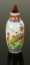 Chinese Enameled Glass Snuff Bottle
