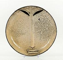 Lorigan, Stoneware Sculptural Plaque