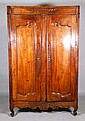 18th C. French Carved Wardrobe