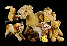 Collection of Steiff Mohair Toys