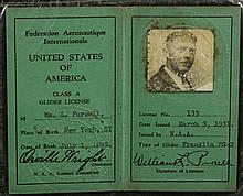 Orville Wright Signed Document
