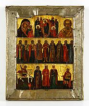 19th C. Russian Icon