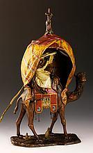 Austrian Bronze Lamp
