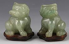 19th C. Chinese Foo Lions