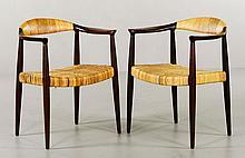 Pr Hans Wegner Round Chairs