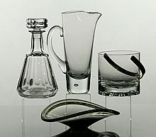 Assorted Crystal Vessels