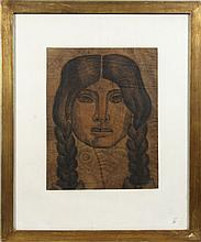 Cabera, Portrait of a Woman, Drawing