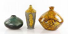 Brinkworth, 3 Pcs Art Pottery
