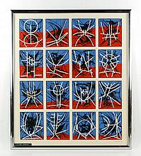 Ernst, Abstract, Lithograph