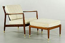Hansen for Dux Armchair and Ottoman